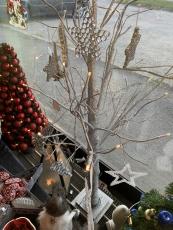 Baum silber