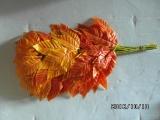 Blätter orange