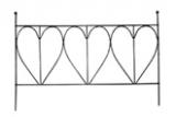 Balkonspalier Jenna(für Balkonkästen mit der Länge 60cm) schwarz
