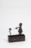 Blumenkasten Cora Willkommen edelrost