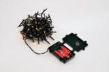 Batterielichterkette mit 96 LED, golden warm whitemit 6 Stunden Timer3xAA Batterien (nicht im Lieferumfang enthalten)