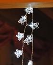 Acryl Lichterkette LED 8 Weihnachtsmännern