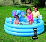 3-Ring Elephant Spray Pool