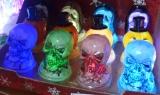 Halloween LED Köpfe/Kürbis
