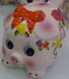 Keramik Sparschwein