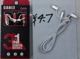 USB Data Kabel 3er