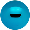 Kugel Glas 8 cm , türkisblau glanz