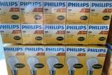 Glühbirne E27 Kugel klar 100 Watt Philips
