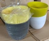 Blumentopf Keramik rund