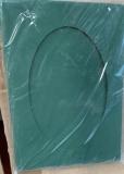 Fotorahmen oval