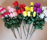 Rosen 10 Blüten 40cm
