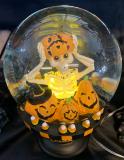 Glaskugel Halloween