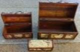 Holzbox Flaschen